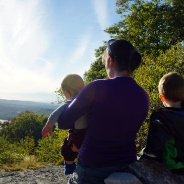 Hiking with Kids: Sunset Hill, September 29 2016